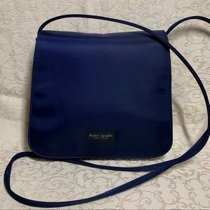 Vintage Kate Spade Nylon Flap Shoulder Bag Handbag
